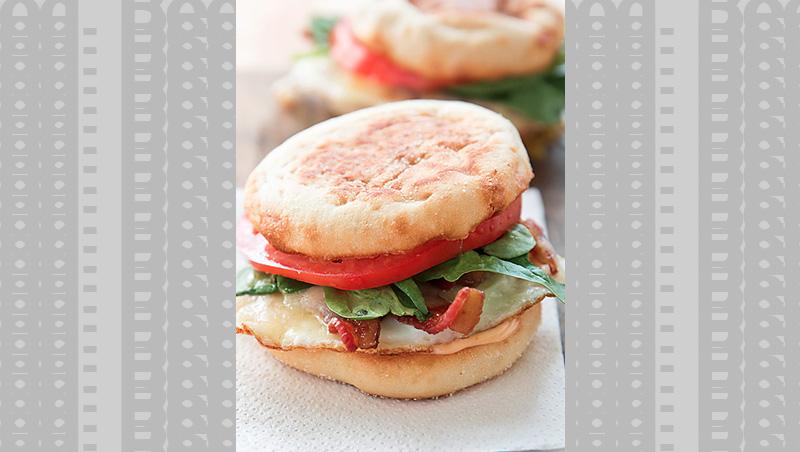 Spicy Breakfast Sandwich by refinery29.com